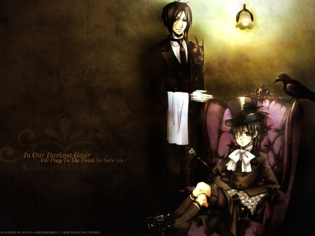 Black Butler's Sebastian and Ciel